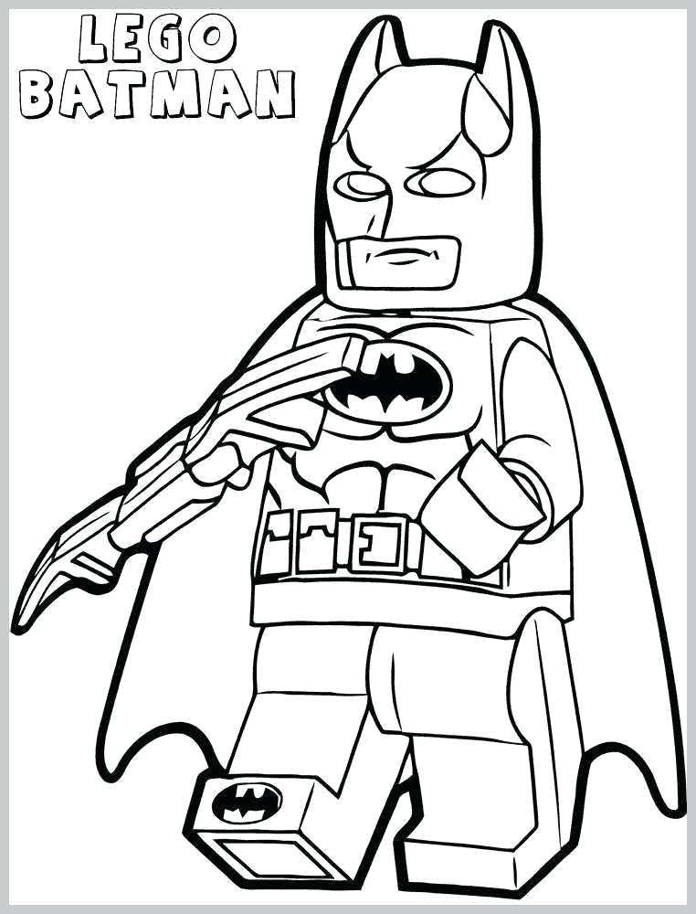 Lego Batman Colouring Pages Printable Di 2020