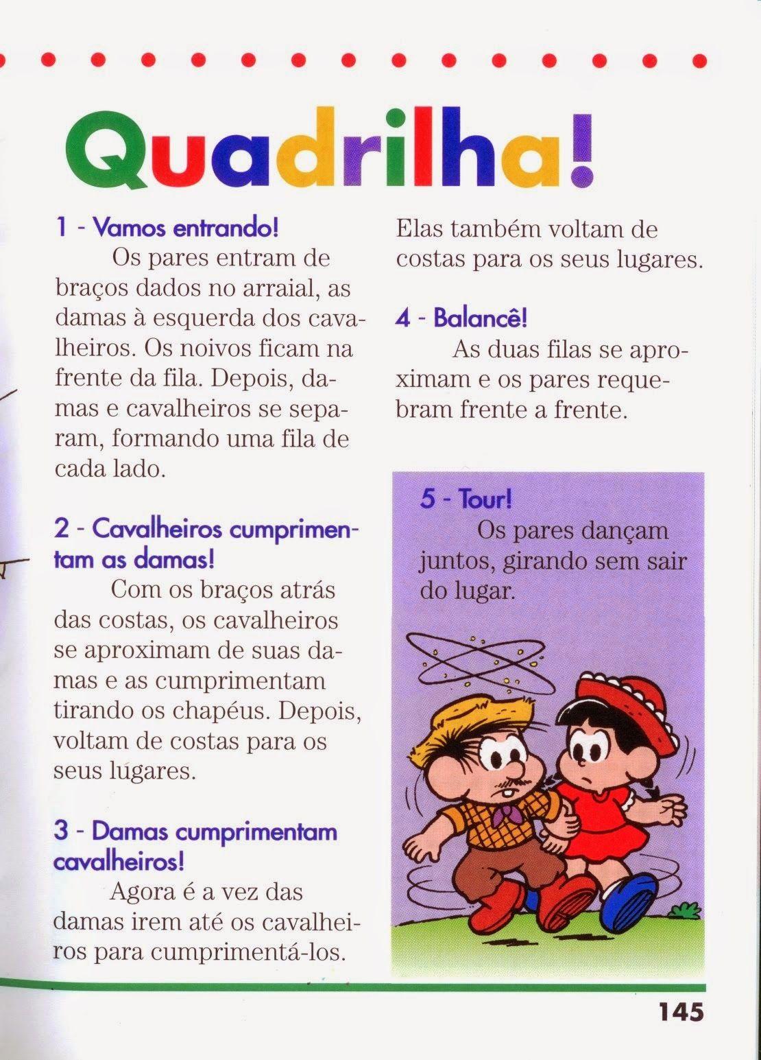 ATIVIDADES EDUCATIVAS: Festa Junina: Quadrilha e ...