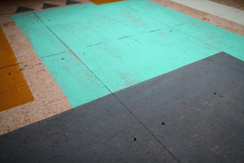 11 idées du0027aménagement \ mobilier déco en OSB Lofts - peinture sol sur ragreage