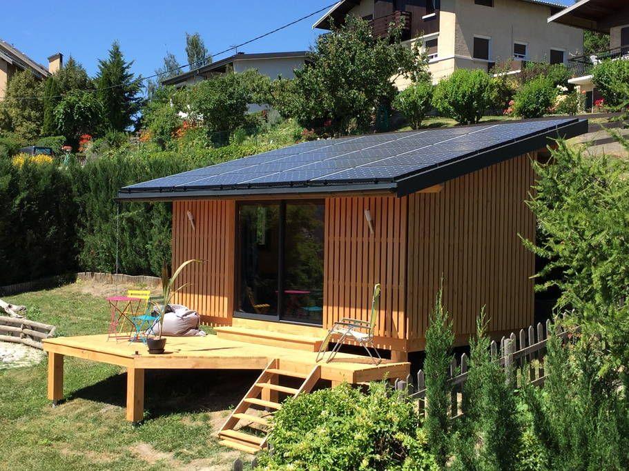 Maison à Embrun, France Chalet en bois innovant, original et