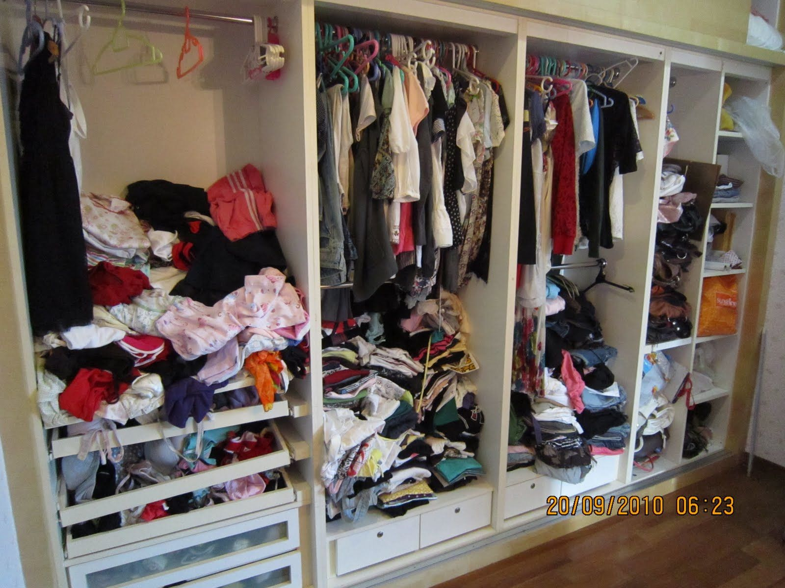 walk in wardrobe messy Google Search