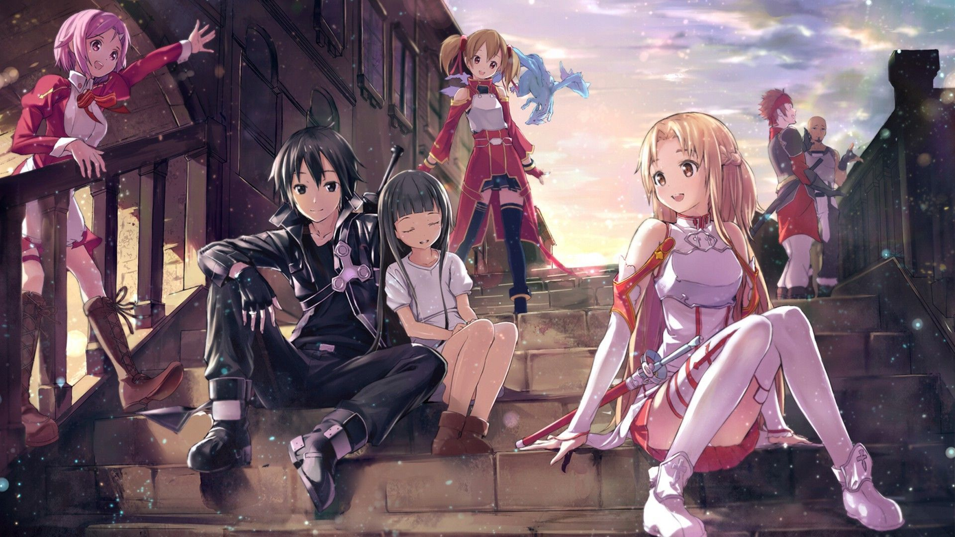 Sword Art Online Wallpaper this is my wallpaper ) Меч
