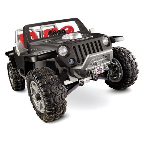Fisher Price Power Wheels Battery Operated Jeep Hurricane Riding