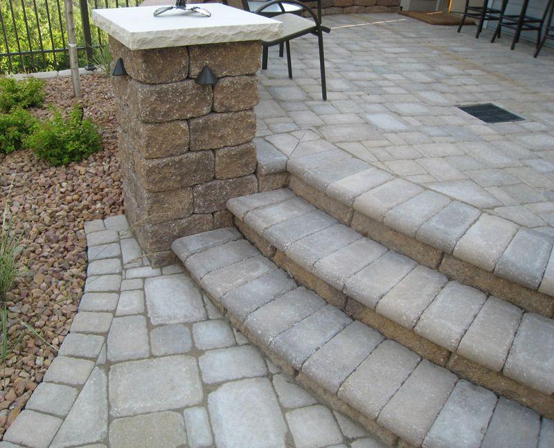 Patio Paver Kits Concrete Diy Patio Pavers Patio Steps Patio Pavers Design