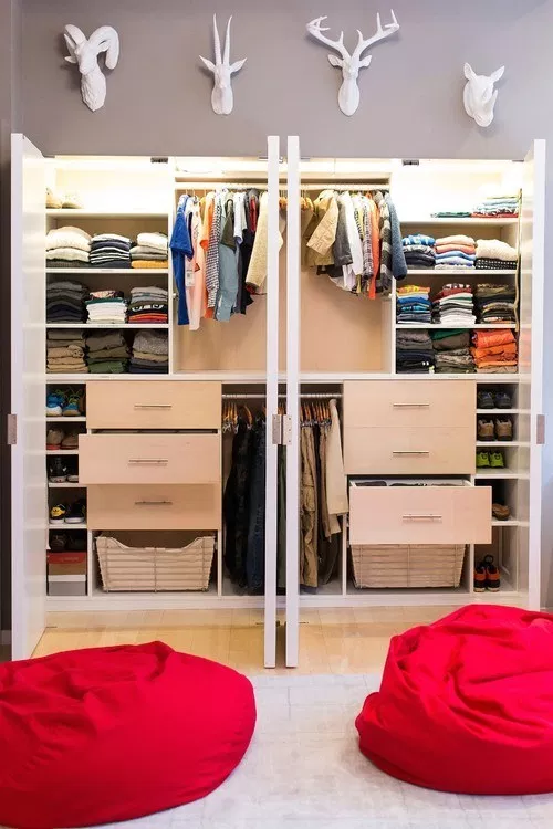 How To Make Your Small Closet An Organizing Masterpiece City Of Creative Dreams Rangement Decoration Organisation