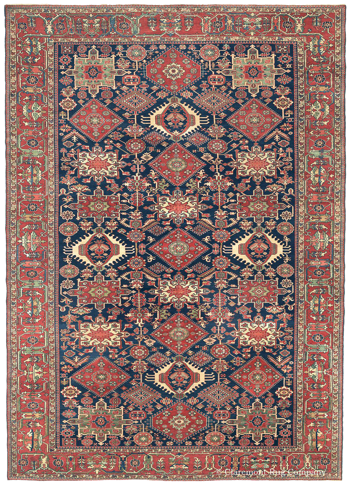 Learn More About This Northwest Persian Karaja Rug Antique Rugs In The Village Tradition Claremont Company