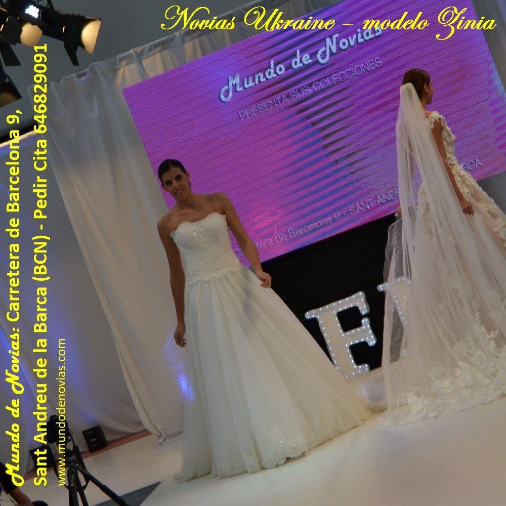 Contemporáneo Vestidos De Novia Barcelona Galería - Vestido de Novia ...