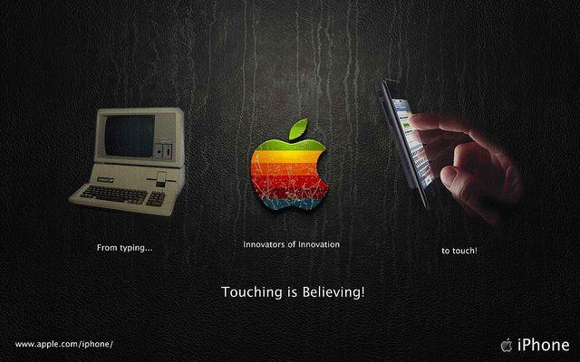 Contoh Gambar Iklan Keren Dari Apple Periklanan Gambar Kreatif