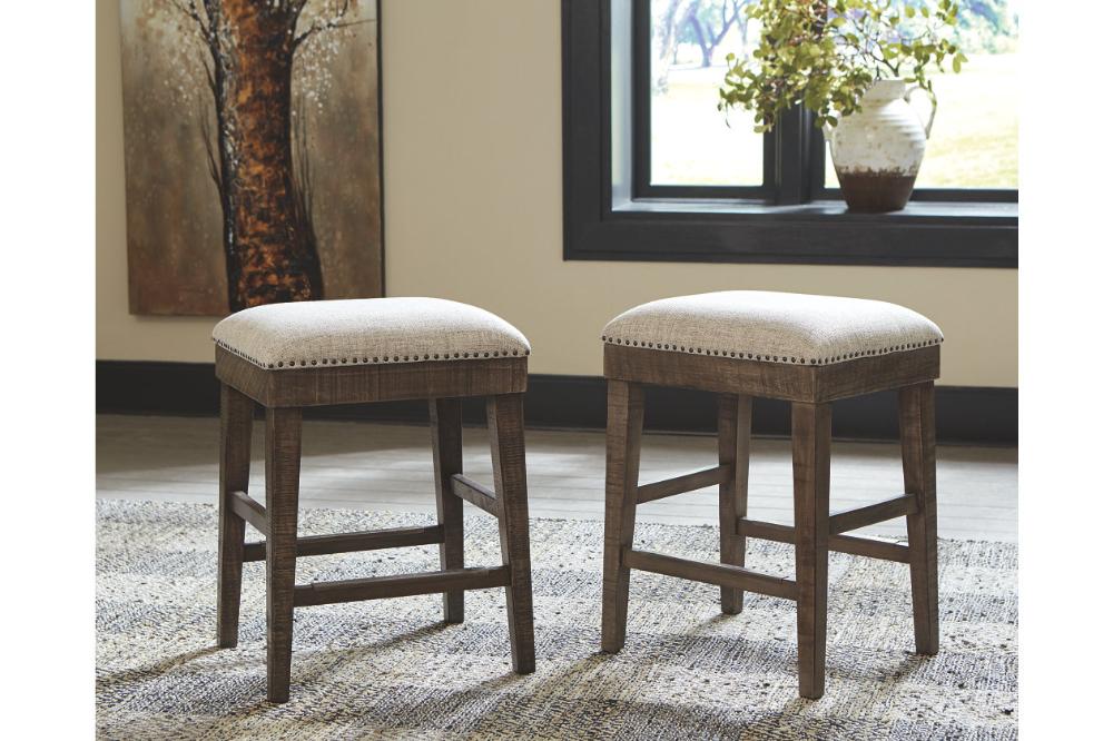 Wyndahl Counter Height Bar Stool Ashley Furniture Homestore Upholstered Stool Counter Height Bar Stools Bar Stools