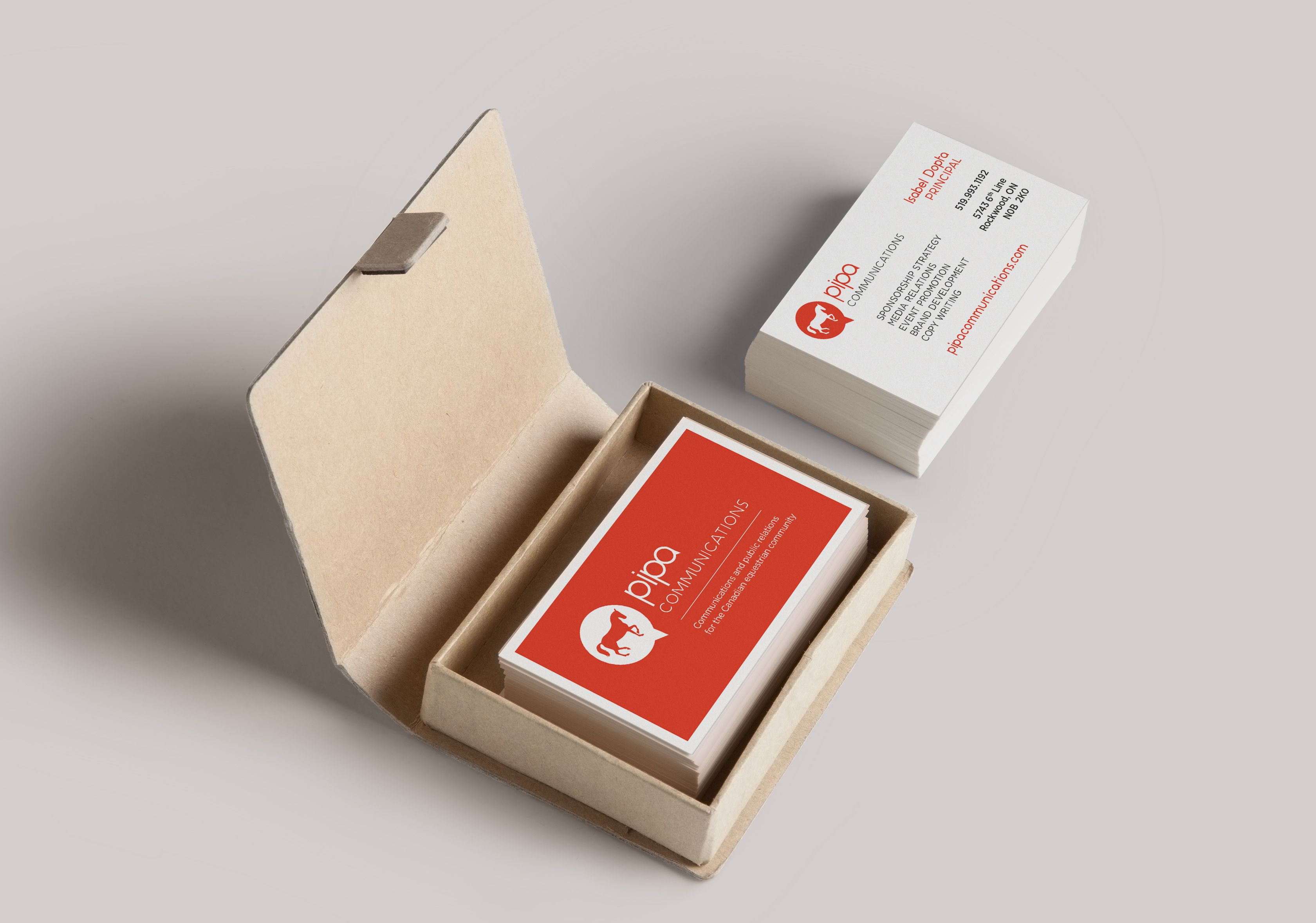 Pipa Communications | Business Card #businesscard #card #cards ...