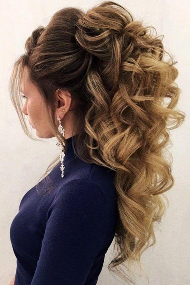 Pretty Half-up Bridesmaid Hairstyles For Long Hair ★ See