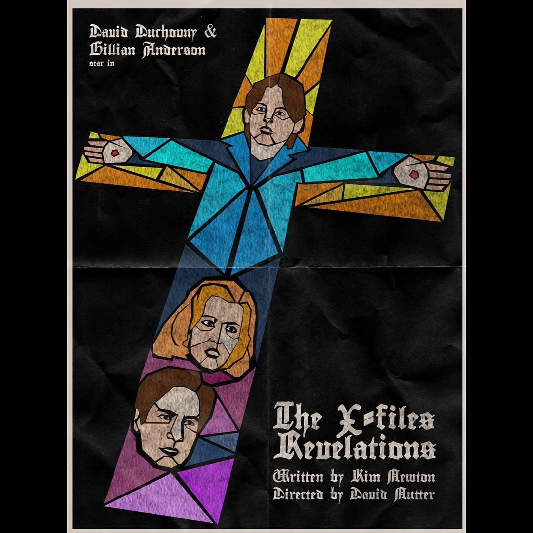 The X Files | Revelations | Poster Project |  Artwork by  J.J. Lendl