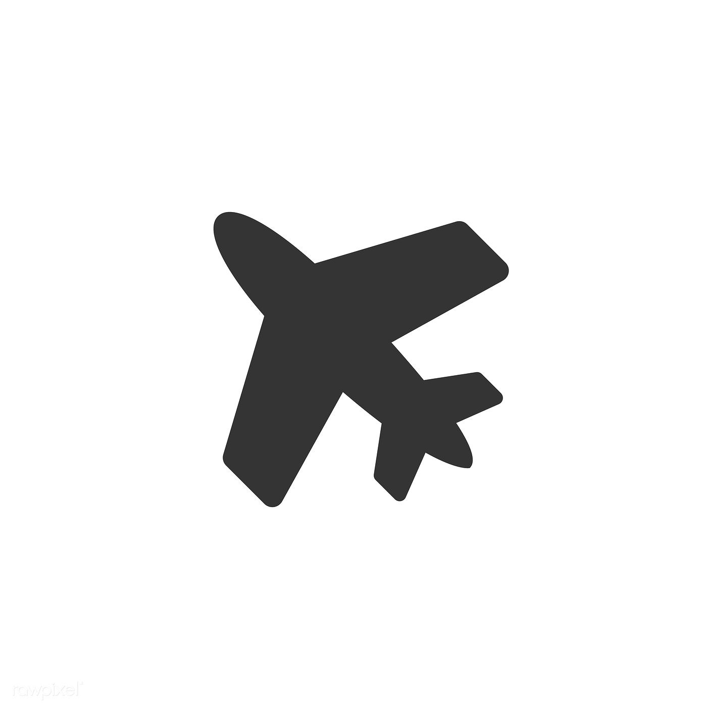 Airplane Icon Vector Free Image By Rawpixel Com