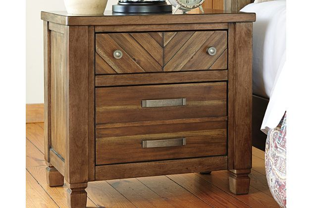 Colestad Nightstand By Ashley Home Light Brown