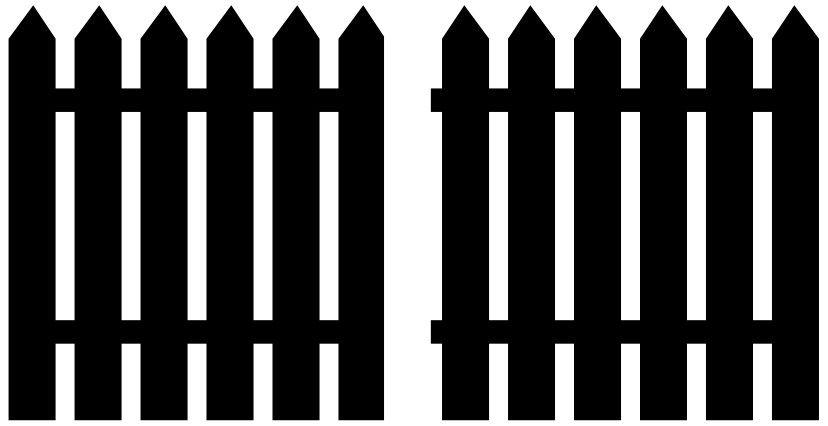 Free Svg File Picket Fence Gate Svg Free Files Svg Free Svg