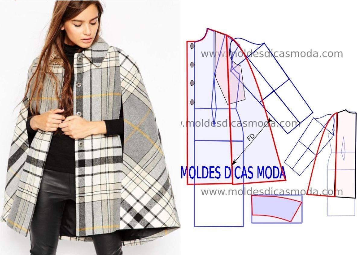 costura #moldes | Moda para mí | Pinterest | Molde, Costura y Patrones