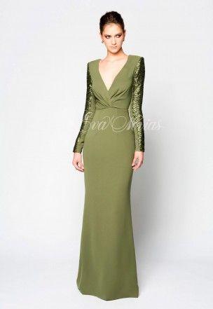 vestido de fiesta victoria colección 2017 modelo acacia en eva