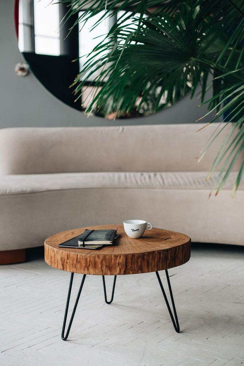 Wood Coffee Table Live Edge Coffee Table Wood Slab Rustic Etsy Live Edge Coffee Table Mid Century Coffee Table Coffee Table Wood [ 1190 x 794 Pixel ]