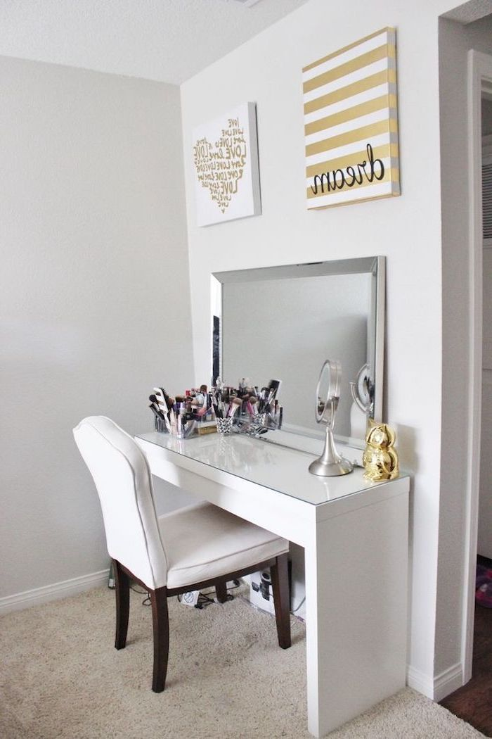 1001 makeup vanity ideas to create your very own beauty