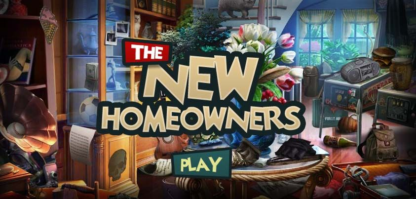 """You can play """"The New Homeowners"""" http//www.hidden4fun"""