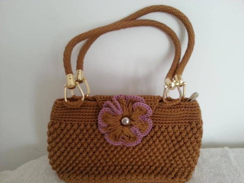 Sac-BG201309 - sac à main - Made in crochet - Fait Maison
