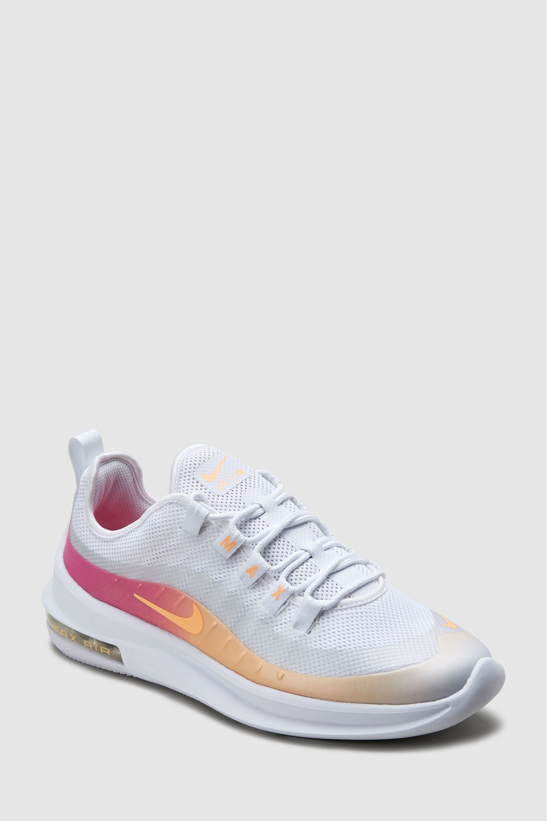 Womens Nike Air Max Axis Premium Trainers White | sneakers