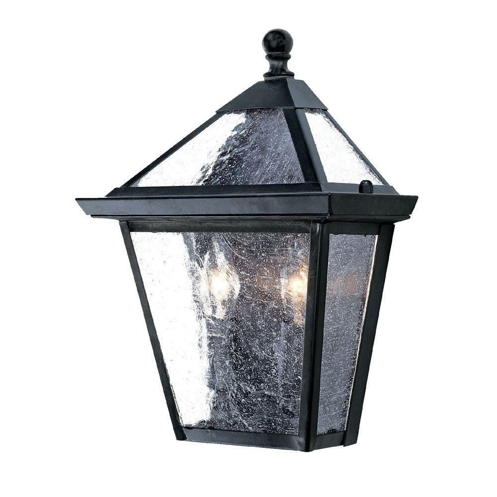 Acclaim lighting bay street collection light matte black outdoor
