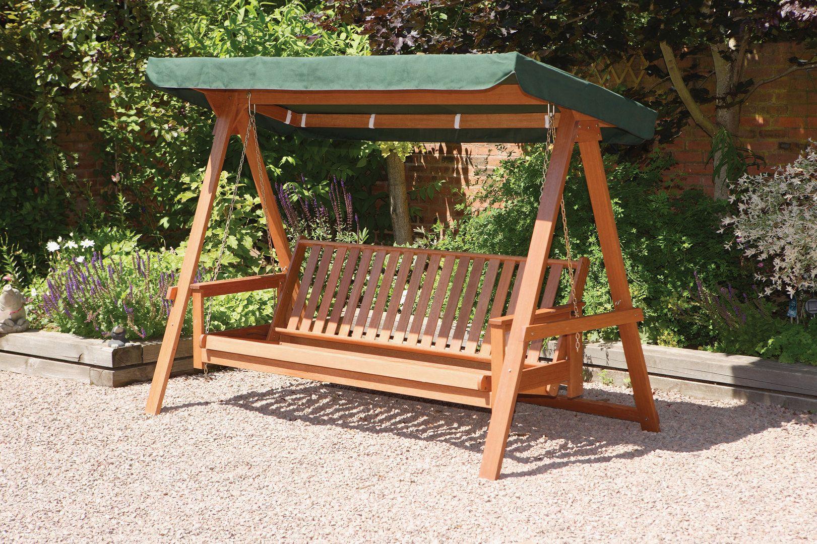 wooden swing hammock bzgtv outdoor. Black Bedroom Furniture Sets. Home Design Ideas