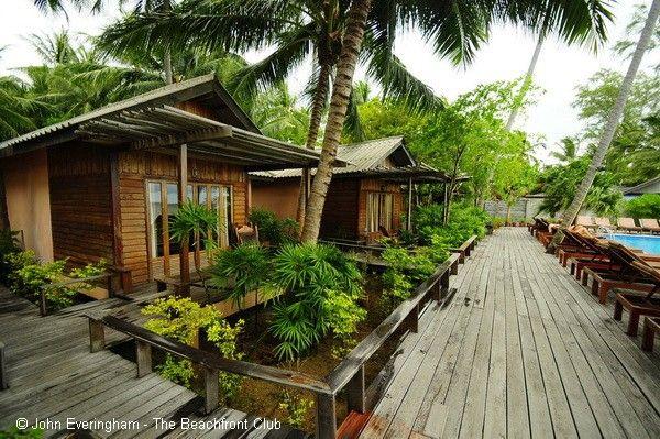Small Beach Resort On Haad Chao Phao Coast Sunset Cove Sea