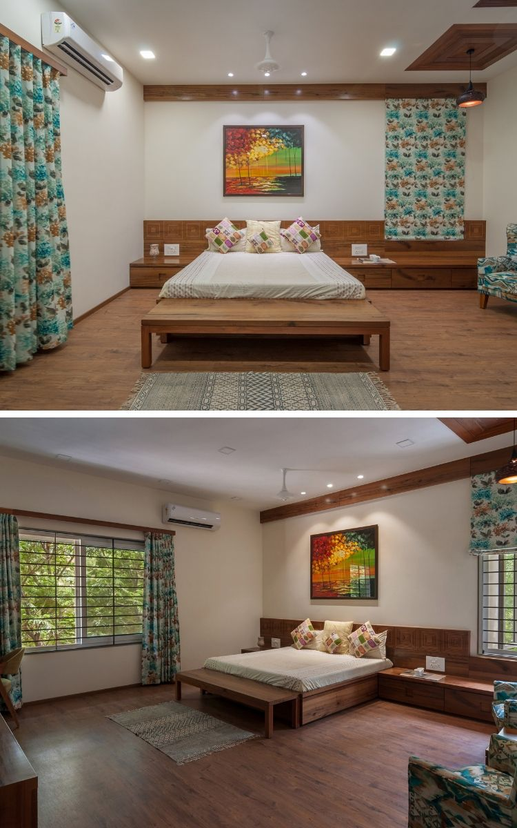Contemporary House With A Simple Layout Avasiti Design The Architects Diary Interior Design Apartment Bedroom Apartment Furniture Layout Apartment Interior Design