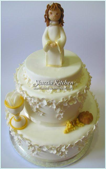 Torta prima comunione le torte decorate di for Decorazione torte prima comunione