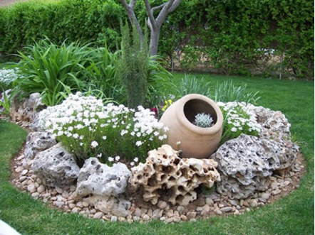 Decoracion De Jardines Rusticos Landscaping With Rocks Rock Garden Design Rock Garden Landscaping