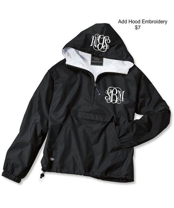 Black river rain jacket