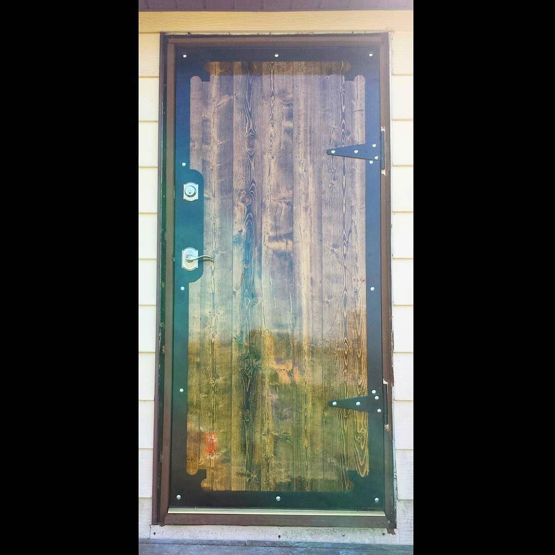 2nd handcrafted door by @charliedeak & his dad. Last door installed & complete.  Just some finishing trim work to go.  #handcrafted #handmade #door #handmadedoor #doors #outdoors #houseremodel #houserenovation #houseremodeling #homedecor #homesweethome #home #artisan #artisian #wood #metal #metalsmith #medieval #medievaldoor #craftmanship #craftsman #beautifuldoor #fancy #woodworking #reclaimedwood  #reclaimed #repurposed #recycledwood #recycled #woodwork de izohgore #woodworktrimwork 2nd handcr #woodworktrimwork