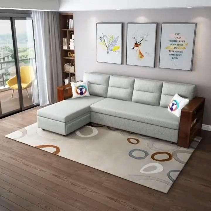 L Shape Sleeping Sofa For Living Room Video Living Room Sofa Design Furniture Design Living Room Sofa Bed For Small Spaces