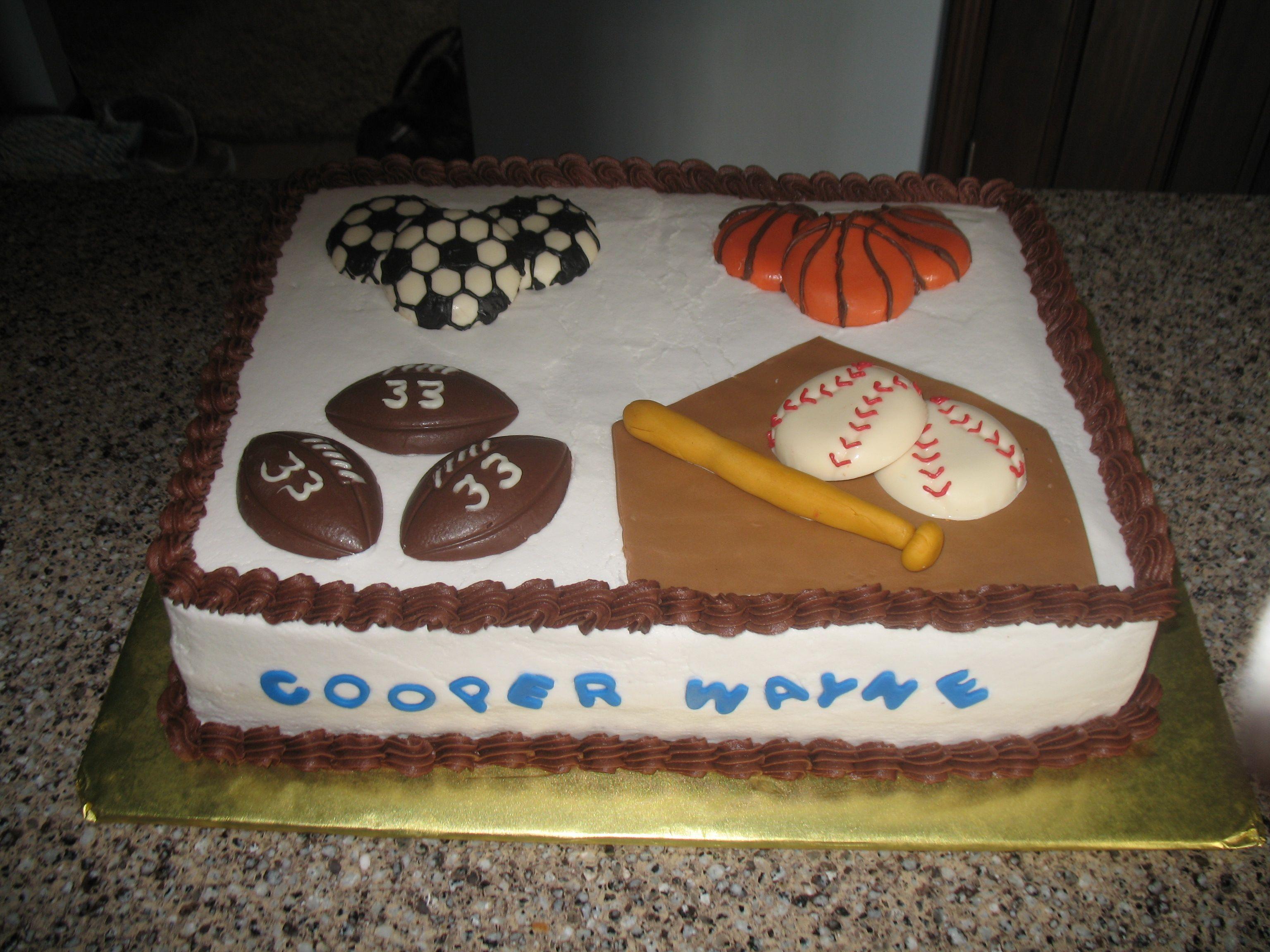 sports theme baby shower cake designs pinterest