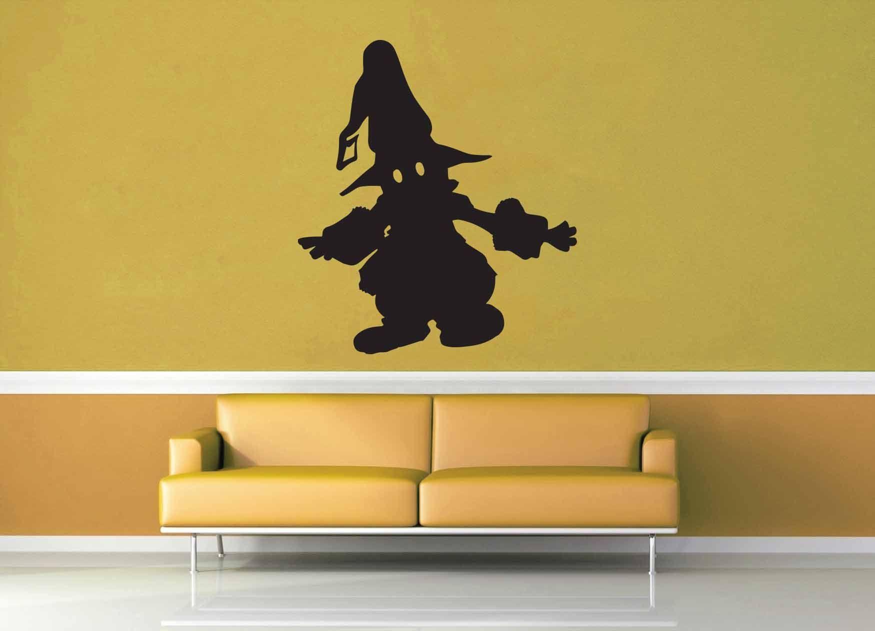 Vivi Silhouette - No 1 - Final Fantasy 9 - Wall Decal | Pinterest ...