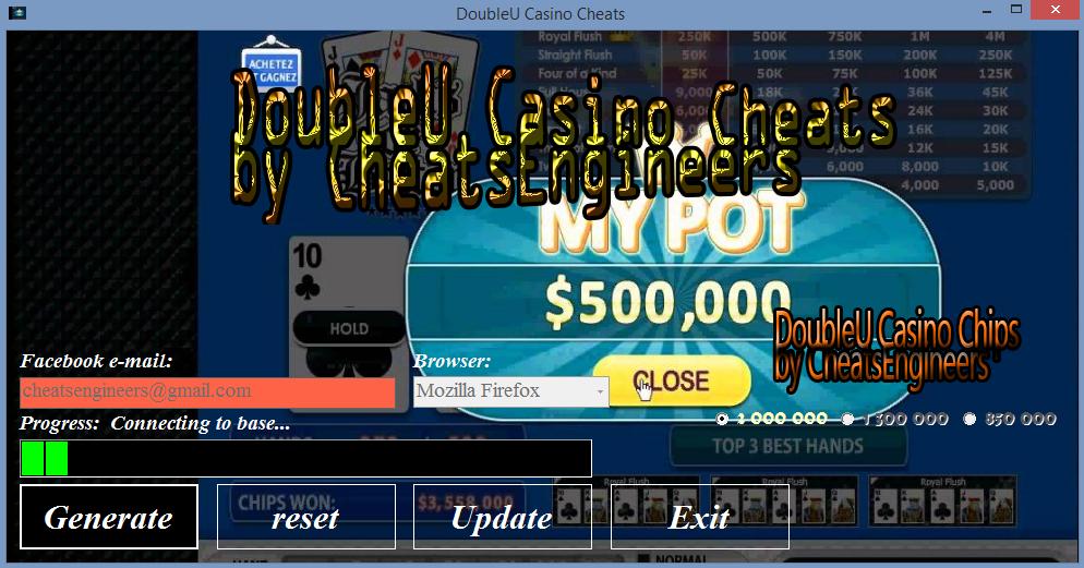 Double U Casino Cheat Engine