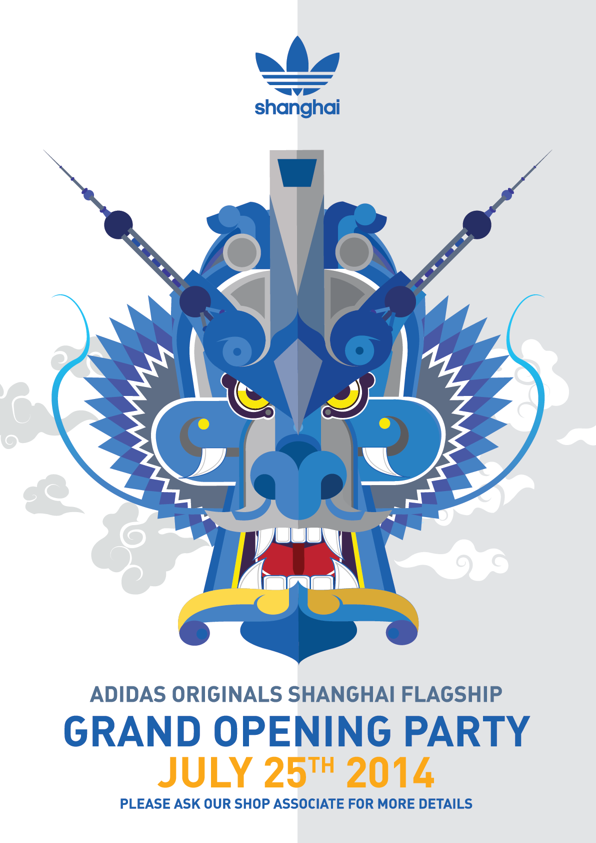 buy online 35886 118fb Promotion design items by Name Name for Adidas Originals Shanghai Flagship  Store.
