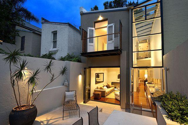 Townhouse backyard design ideas remedies yard and - Terraced house backyard ideas ...