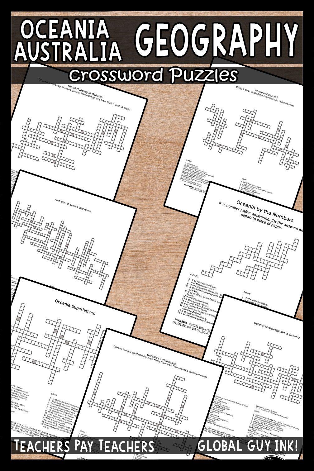 Oceania & Australia Crossword Puzzles Crossword puzzles