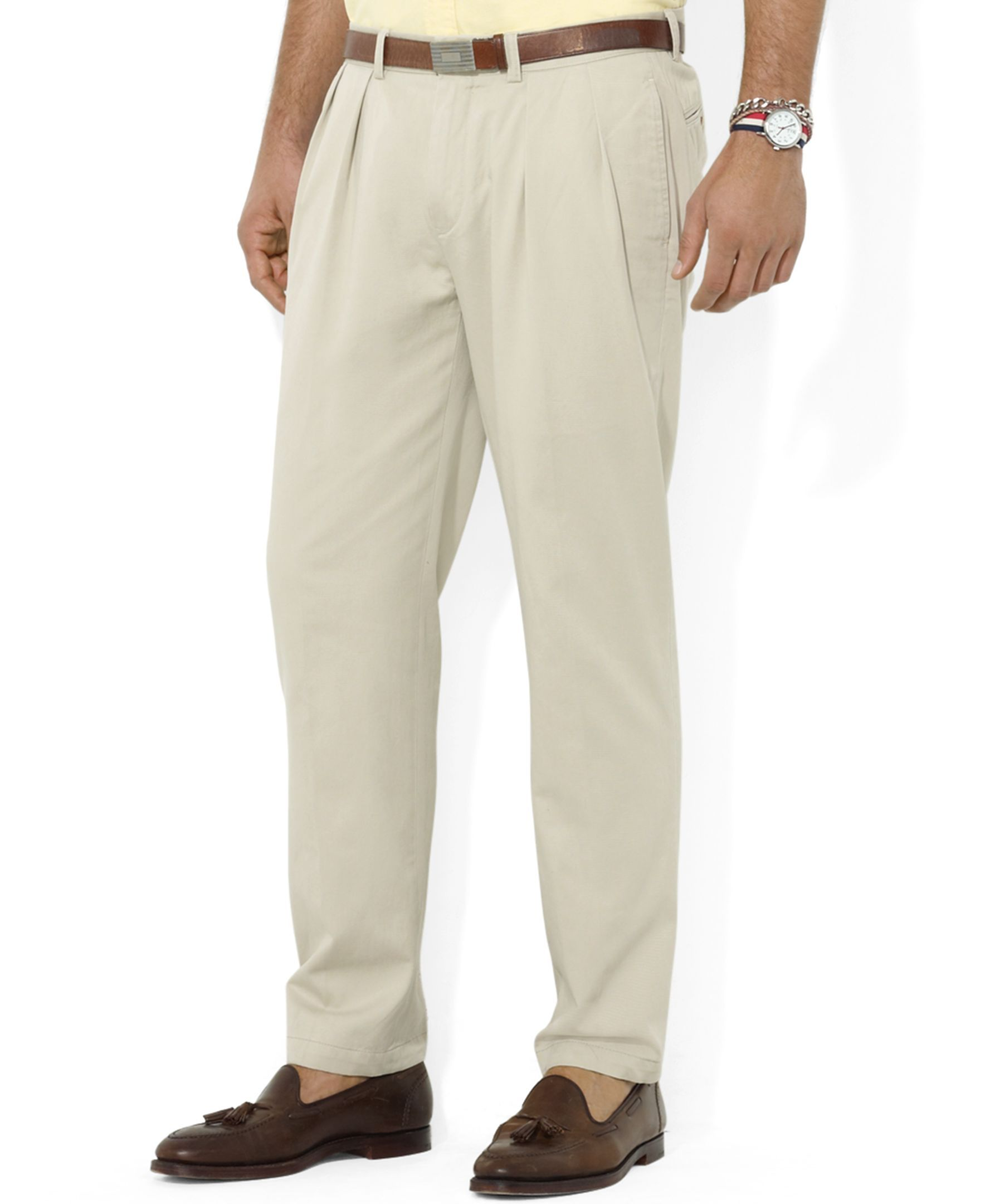 Pants PantsClassic Pleated Chino Core Ralph Fit Lauren Polo fv6ybY7g