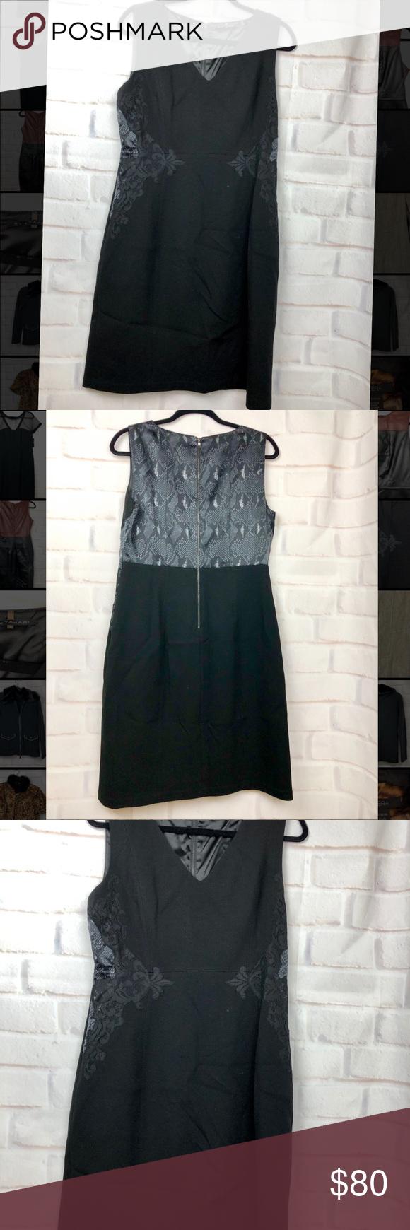 Elie Tahari Black Sheath Dress Black Sheath Dress Sheath Dress Elie Tahari [ 1740 x 580 Pixel ]