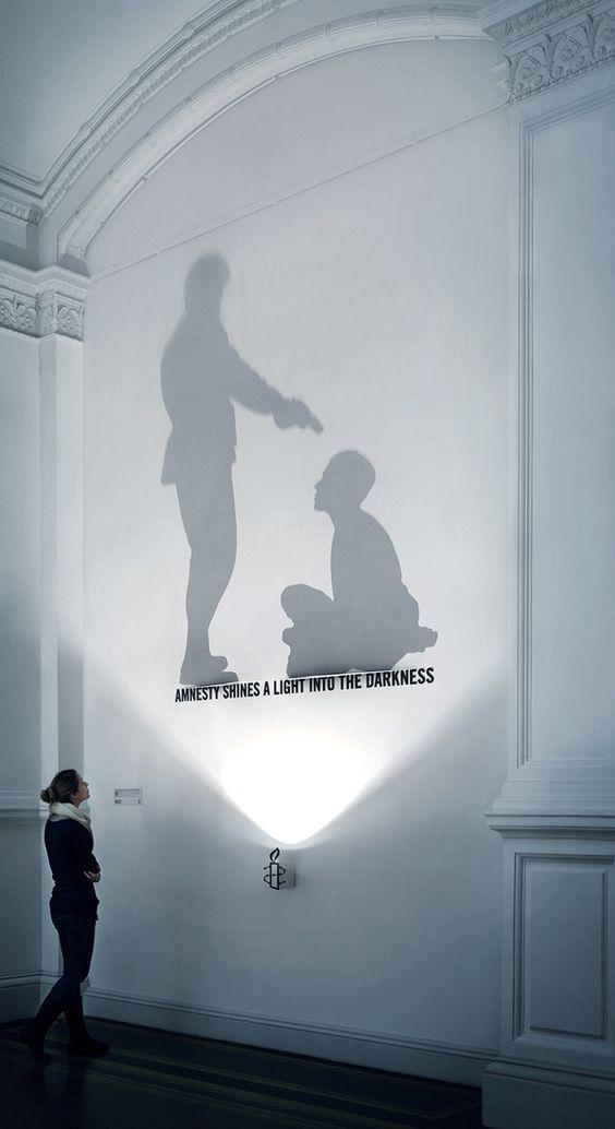 Amnesty International - Light Sculpture on Behance: