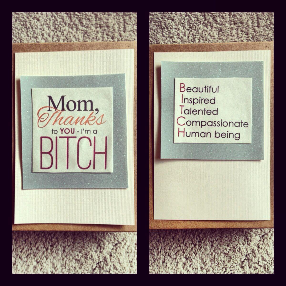 A fabulous motherus day card diy thesparkledlife mothersday card