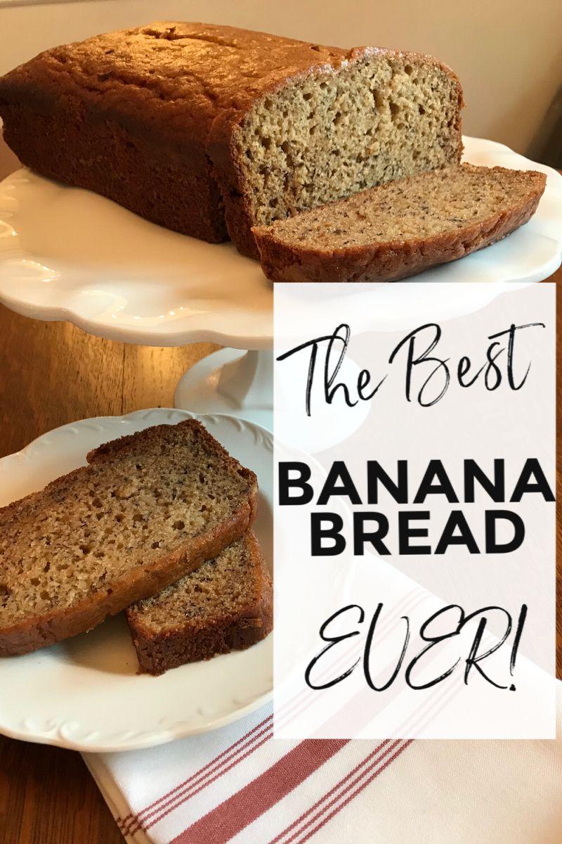 Look no further for a banana bread recipe, this banana ...