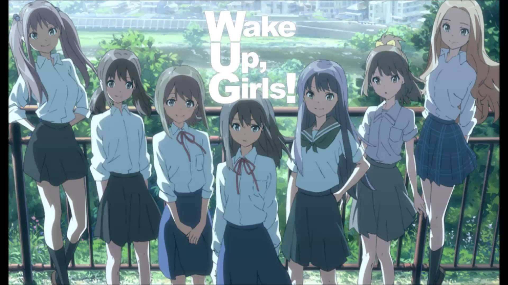 Tachiagare Wake Up Girls 人気 アニメ アニメ 大物