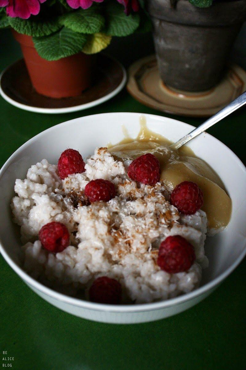Coconut Rice Pudding (vegan) Food, Food drink, Sugar