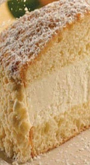 Olive Garden's Lemon Cream Cake