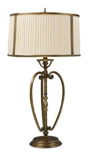 Dimond 11053/1 Williamsport Table Lamp In Vintage Brass Patina